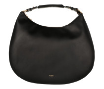 Aja Hobo Large Pacato Black Bag schwarz