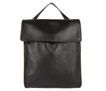 Tasche - Croissant Backpack Large Black - in schwarz