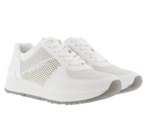 Allie Trainer Sneakers Optic White Sneakerss silber|Allie Trainer Sneakers Optic White Sneakerss weiß