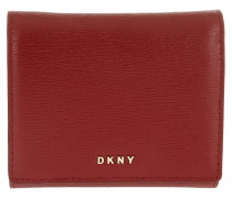 Trifold Wallet Wit Scarlet Portemonnaie