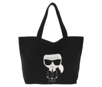 Shopper K/Ikonik Karl Tote Black