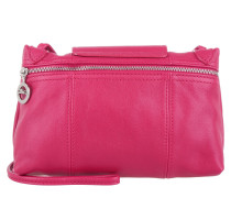 Tasche - Le Pliage Cuir Messenger Crossbody Bag Cyclamen