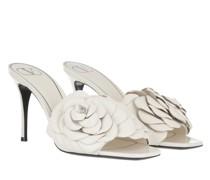 Sandalen Rose High Heels Leather Ivory