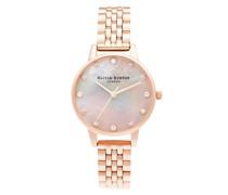 Uhr Quartz Watch Roségold