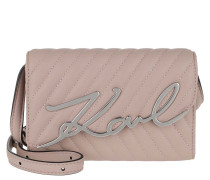 Gürteltasche Signature Stitch Belt Bag Powder Pink
