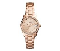 Uhr Scarlette Mini Three-Hand Stainless Steel Watch