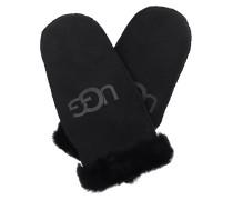Handschuhe Women Sheepskin Logo Black