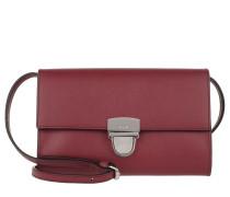 Tasche - Dido Crossbody Bag Small Saffiano Dark Red