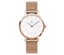 Uhr Ladies Analogue Watch Felicity Rose Gold