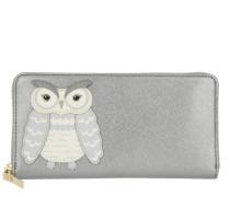 Owl Applique Lacey Wallet Multicolour