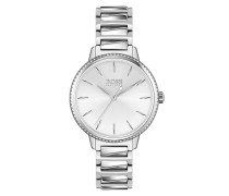 Uhr Women Quartz Watch Signature Silver