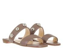 Slipper & Pantoletten Simple Bille Dome Studs Flat Sandals Leather