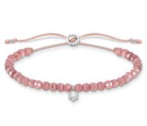 Armband Bracelet White Stone Rose