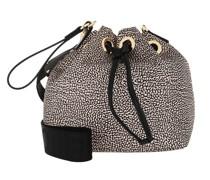 Beuteltasche Small Bucket Bag Op Natrual/ Green