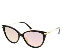 Sonnenbrille MOS069/S Sunglasses Dark Havana