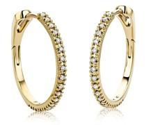 Ohrringe 18KT 0.18ct Diamond Creole Earring