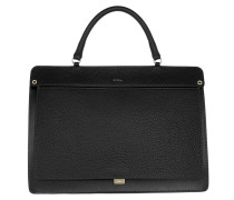 Like M Top Handle Onyx Satchel