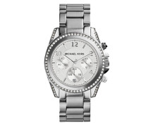 Blair Chronograph Watch Silver Armbanduhr