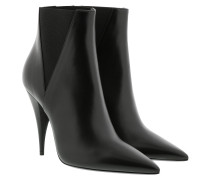 Boots Kiki Chelsea Booties Smooth Leather Black