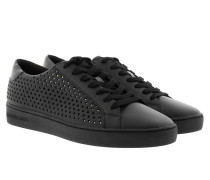 Irving Lace Up Black Sneakers