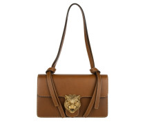 Tasche - Knotted Shoulder Bag Tiger Brown