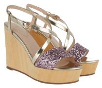 Kalithea Emilia High Wedge Sandal Sandalen
