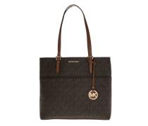 Tasche - Bedford LG Pocket Tote Brown - in braun - Henkeltasche für Damen