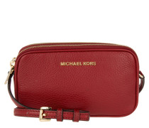 Tasche - Bedford MD Double Zip XBody Leather Cherry