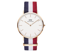 Uhr Classic Cambridge 40 mm Blue White Red