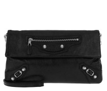 Giant Envelope Umhängetasche Clutch Black