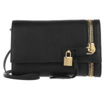 Tasche - Zip Front Pochette Black