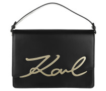 Metal Signature Big Shoulderbag Black Umhängetasche