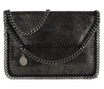 Falabella Umhängetasche Mini Bag Shiny Dot Ruthenium