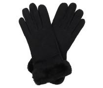 Handschuhe Seamed Gloves Black