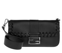 Tasche - Baguette Vit. Dolce Satchel Nero - in schwarz - Henkeltasche für Damen