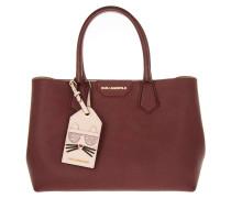 Tasche - K/Lady Shopper Burgundy
