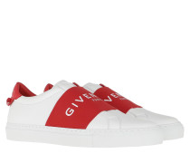 Sneakers Paris Webbing Sneaker Leather Red/White