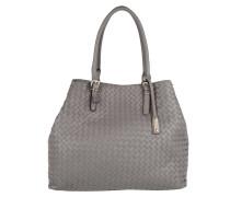 Piuma Braided Shopping Bag Zinc