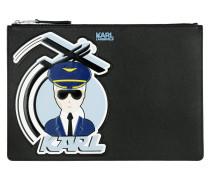 K/Jet Karl Big Pouch Black Pochette