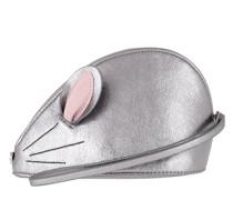 Pochette Squeak Mouse Wristlet Silver