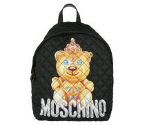 Bear Backpack Black Rucksack