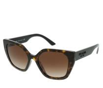 Sonnenbrille 0PR 24XS 2AU6S1 Woman Sunglasses Heritage Havana
