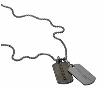 Halsketten Stainless Steel Double Dogtag Necklace