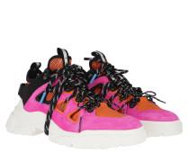 Sneakers Orbyt Mid Black Orange Pink