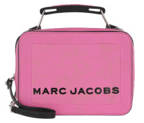 Umhängetasche The Mini Box Bag Leather Bright Pink