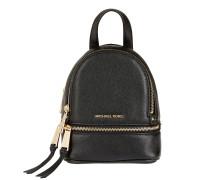Rucksack Rhea Zip Messenger Backpack Black