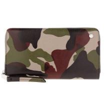 Kleinleder - Mustang Leather Wallet Military