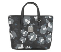 Tote Anya Floral Leopard Shopper Mini Black