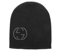 Schal - Blakilos Ladies Knitted Cap GG Crystal Black