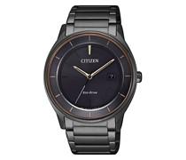 Uhr Sports Wristwatch Black
